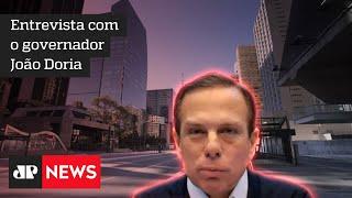 João Doria diz que São Paulo não terá apagão e reafirma sua candidatura à Presidência