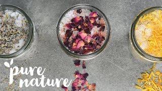 DIY Homemade Bath Salts