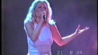 MARTA SANCHEZ LEJOS DE AQUELLA NOCHE EN CONCIERTO 1994 GIRA MUJER