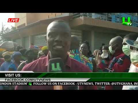 Accra: CMB Market Closed Until Further Notice