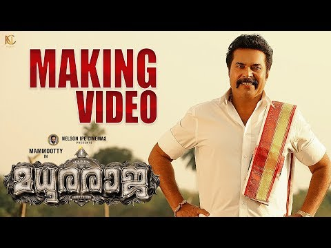 Madhura Raja Making Video - Mammootty