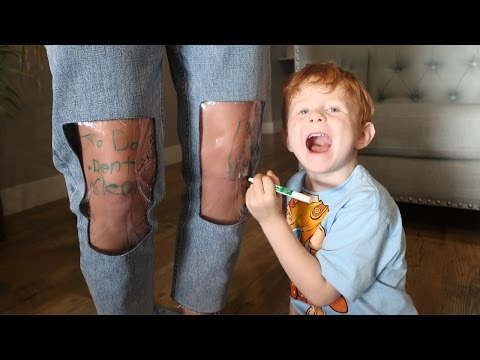 Clear knee Mom Jeans! the ugliest jeans in the world? Full review vlog