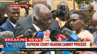 Lawyer John Khaminwa expresses disappointment in supreme court
