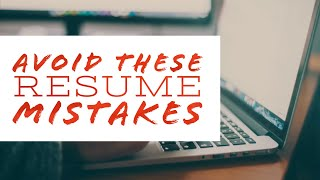 Six Things You Must Remove From Your Resume Immediately