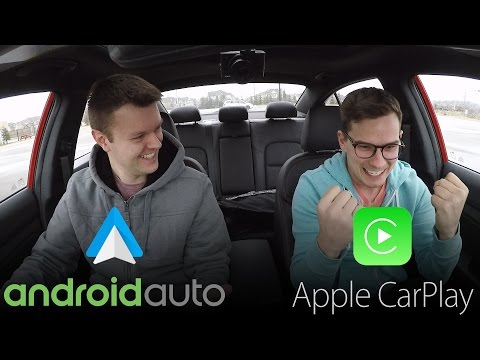 Android Auto vs Apple CarPlay REAL WORLD TEST – Yuri and Jakub Go For a Drive