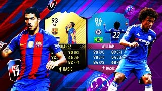WILLIAN SBC + CAMINANTE   PACK OPENING SUÁREZ IF   FIFA 17