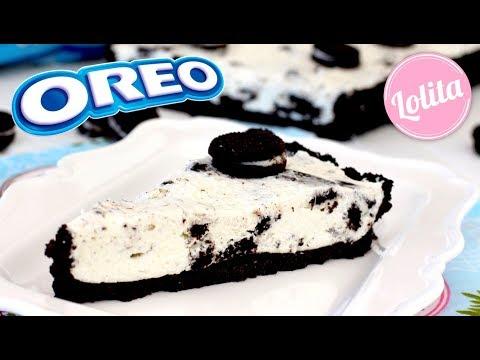 Receta de tarta de Oreo sin horno - Tarta fría de Oreo sin gelatina