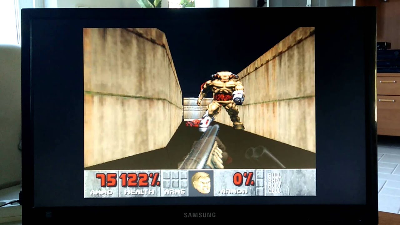 Guy Codes Doom From Scratch, Builds Custom Gamepad, For The Raspberry Pi