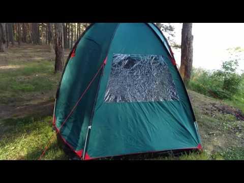 Смотреть видео Палатка Tramp Bell 4 v2