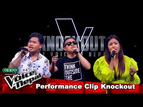 Abi Vs Top Vs Afrita | Knockout |The Voice of Nepal Season 3 - 2021
