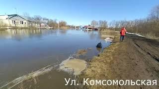 Наводнение 2018 в р.п. Самойловка(Саратовская обл.)