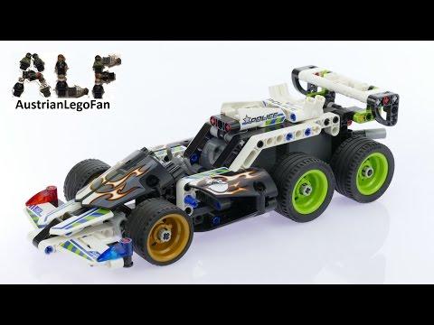 Vidéo LEGO Technic 42047 : La voiture d'intervention de police