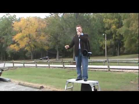 Open Air Preaching at Muse Park Jackson Tennessee