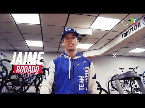 Prueba de esfuerzo en Healthing de Reebok SC de Jaime Rodado, triatleta Team Clavería 2019.