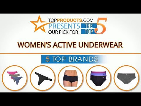 Best Women's Active Underwear Reviews 2017 – How to Choose the Best Women's Active Underwear