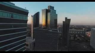 Красивая Астана с птичего полета
