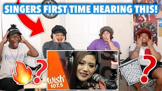 Singer Songwriters React to Morissette - Akin Ka Na Lang Live on Wish Bus 107.5