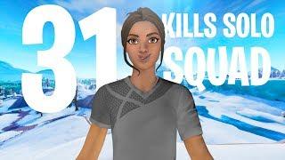31 Kills Solo Squad |Console - Fortnite