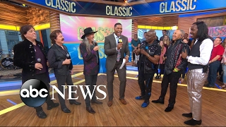 Earth Wind & Fire and the Doobie Brothers perform preview of upcoming concert