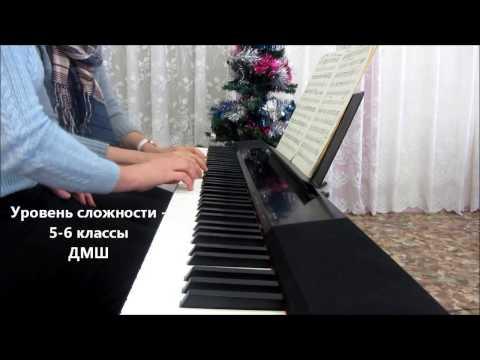 """С.Никитин - В. Берковский """"Под музыку Вивальди"""" - piano cover"""