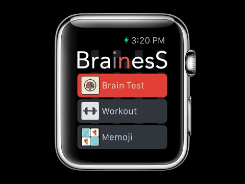 Brainess - Train your Brain - Game for Apple Watch - Walkthrough