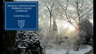 Season's Greetings from Pembroke College 2016