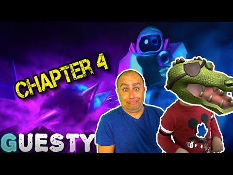 Roblox Guesty chapter 4 Aquarium has just been updated! Will we survive?