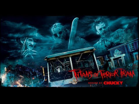 The Titans of Terror Tram is Coming to Halloween Horror Nights 2017