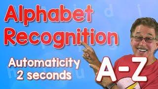 Alphabet Automaticity | Upper Case | 2 Seconds | Jack Hartmann