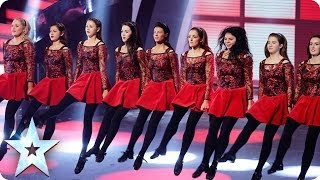 Innova Irish Dance Company are the belles of BGT | Britain