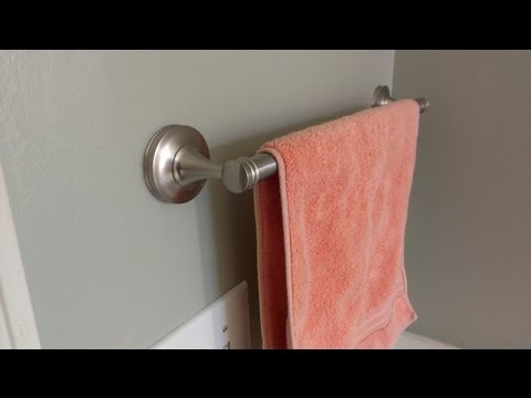 Como instalar un toallero
