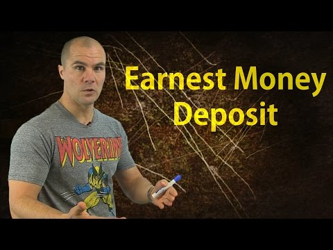 How NOT to Pay an Earnest Money Deposit When Wholesaling Houses