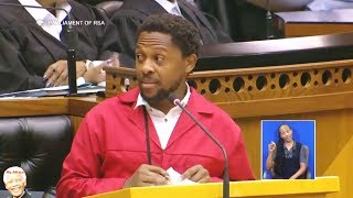 Dr Ndlozi Shames ANC Members Of Parliament