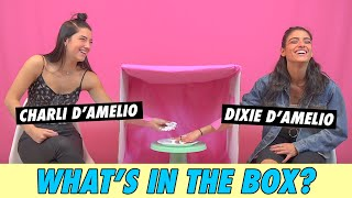 Charli vs Dixie D'Amelio - What's In The Box?