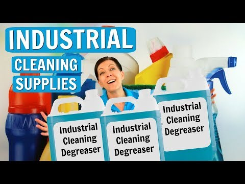 Industrial Cleaning Supplies, Best Places and Best Prices