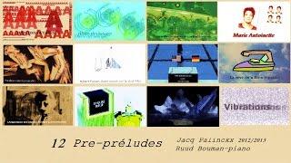 12 Pré-preludes