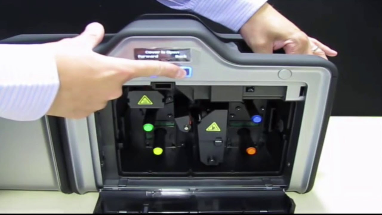 Fargo HDP5000 - How to Clean Your Printer