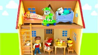 Learn Colors for Children Paw Patrol New House Ice Cream Rubble Zuma Skye Chase   Fizzy Fun Toys