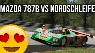How Fast Can The Rotary Powered Mazda 787B Lap The Nordschleife?