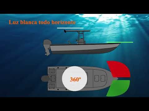 ⚓️ Las LUCES de NAVEGACIÓN (Marítimas), conceptos básicos #1 - Nautimundo