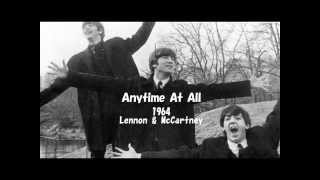 "The Beatles ""Any Time At All"" Cover / Home Recording"