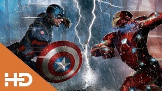Тони Старк против Баки и Капитана Америки (Часть 1) | Первый мститель: Противостояние | 4K ULTRA HD
