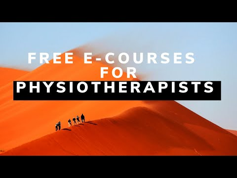 Physiotherapy Free Online Courses for students and ... - YouTube
