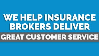 Helping brokers deliver great customer service