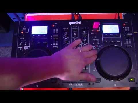 Gemini DJ Twin CD Media Player CDM-4000 Review