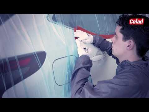 COLAD Orange UV Maskeertape | CROP - Car Repair Online Products