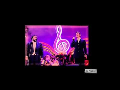 "GEORGE MICHAEL and Luciano Pavarotti ""miss Sarajevo"" - a tribute 1963 - 2016"