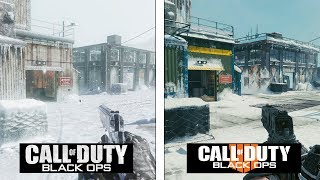 Call of Duty Black OPS 4 | Summit Map Evolution | Black OPS 1 vs 4 Comparison