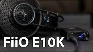 Fiio E10K инструкция, характеристики, форум, обзор