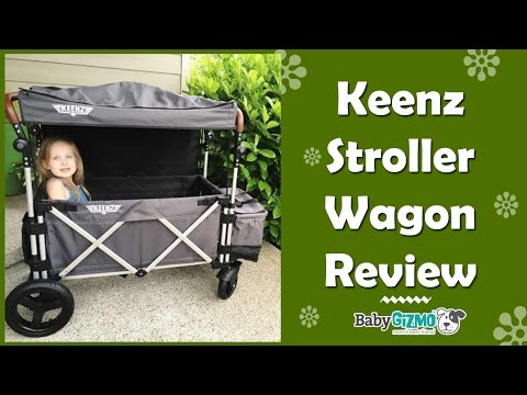 Keenz Stroller Wagon Review by Baby Gizmo